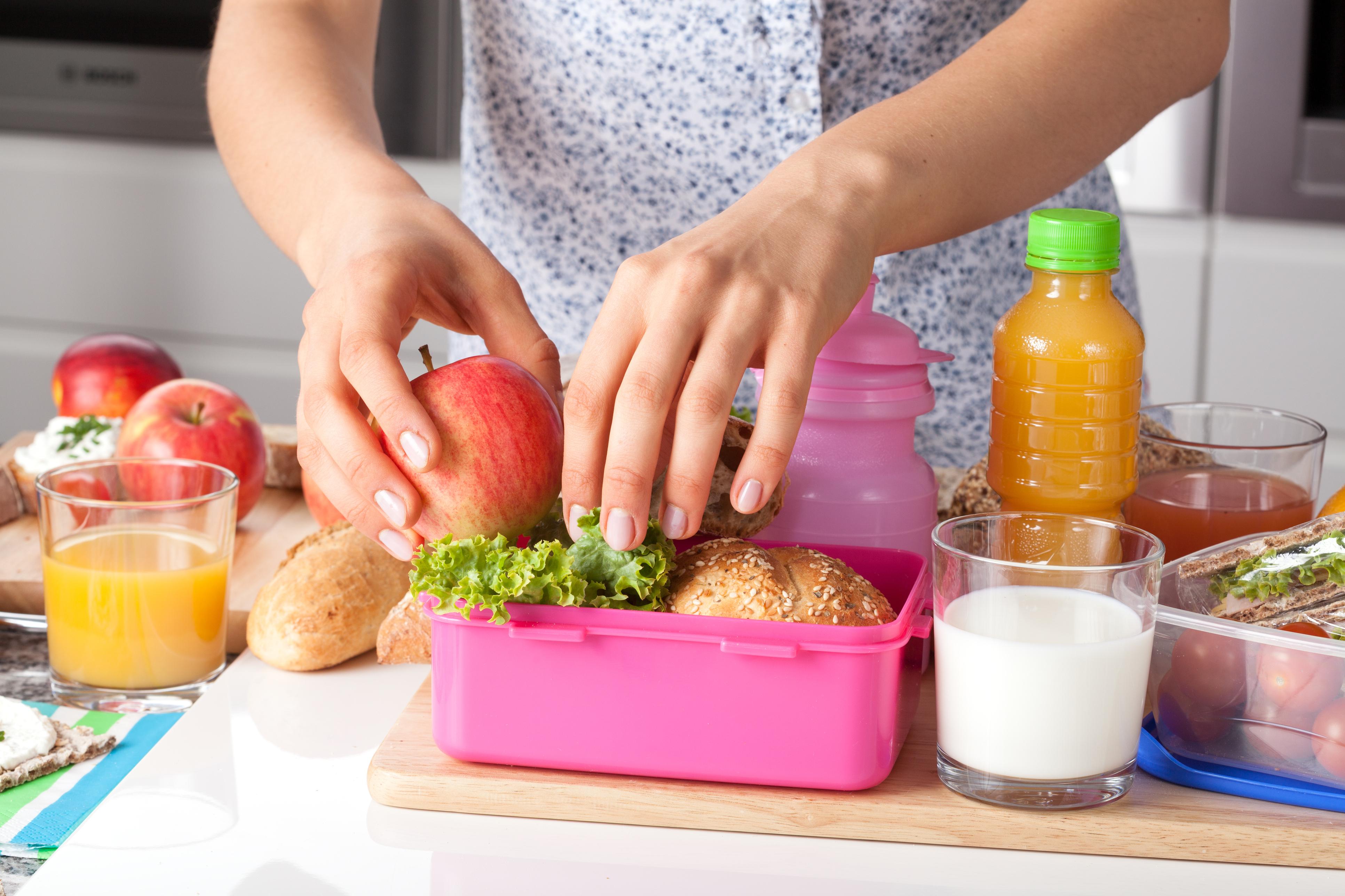 Como preparar alimentos saudáveis para a volta às aulas