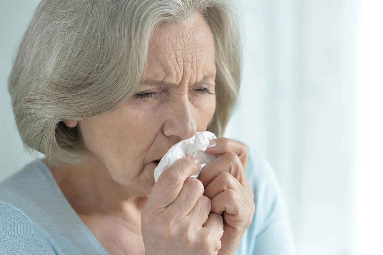 As alergias em idosos são geralmente de pouca gravidade, mas podem interferir significativamente em seu bem-estar.